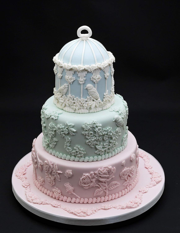 sugarcraft cupcakes fabriqu/é au Royaume-Uni Ceri Griffiths Bordure en corde dentel/ée pour d/écoration de g/âteaux bonbons approuv/ée par des aliments cartes et argile travaux manuels