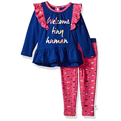 Rosie Pope Baby Girls Welcome Tiny Human 2 Piece Set