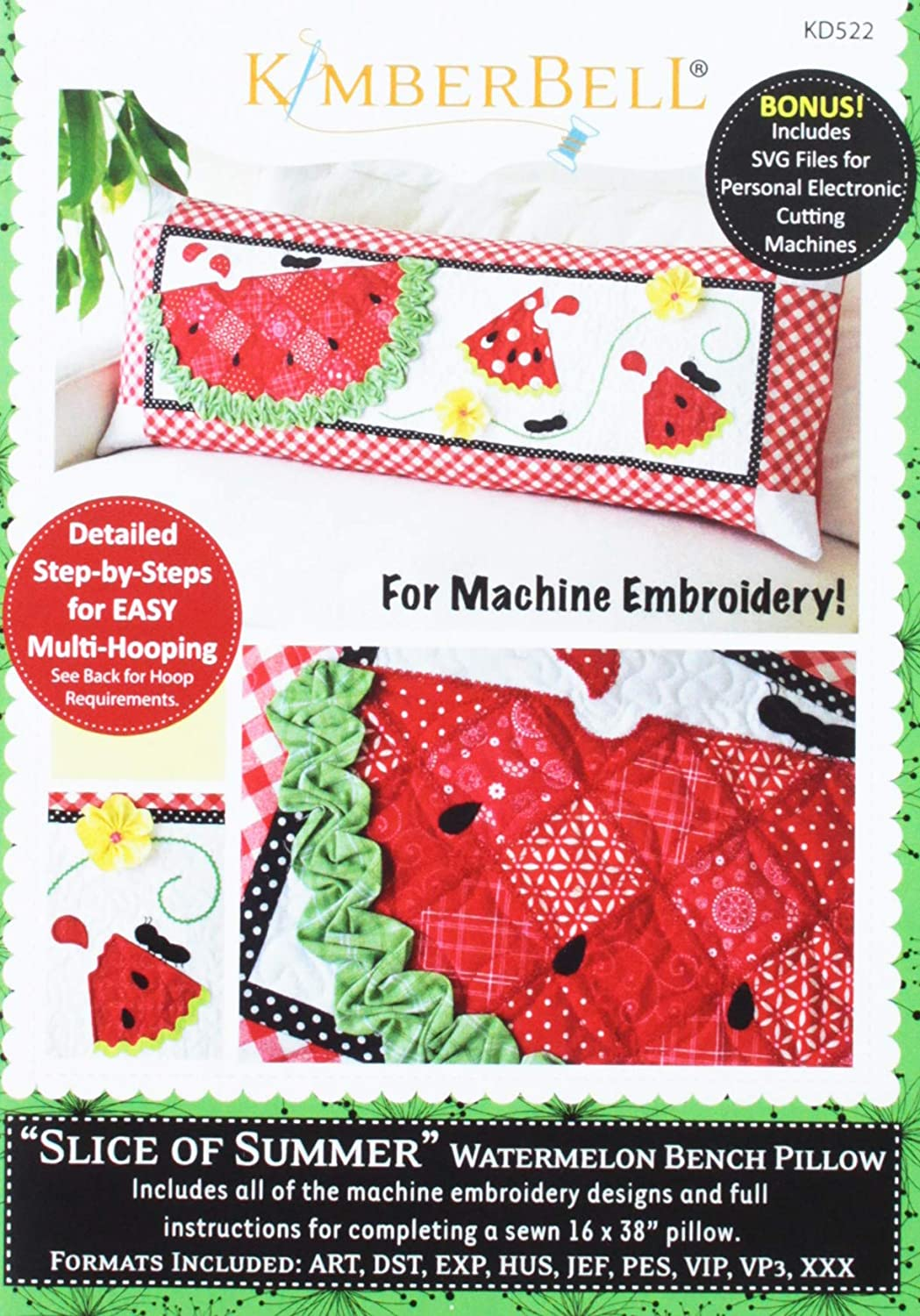 Kimberbell Slice of Summer Pattern CD