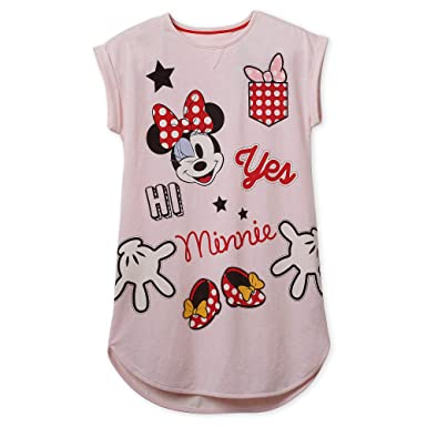 2896cf8b6c Amazon.com  Disney Minnie Mouse Nightshirt for Women Multi  Clothing