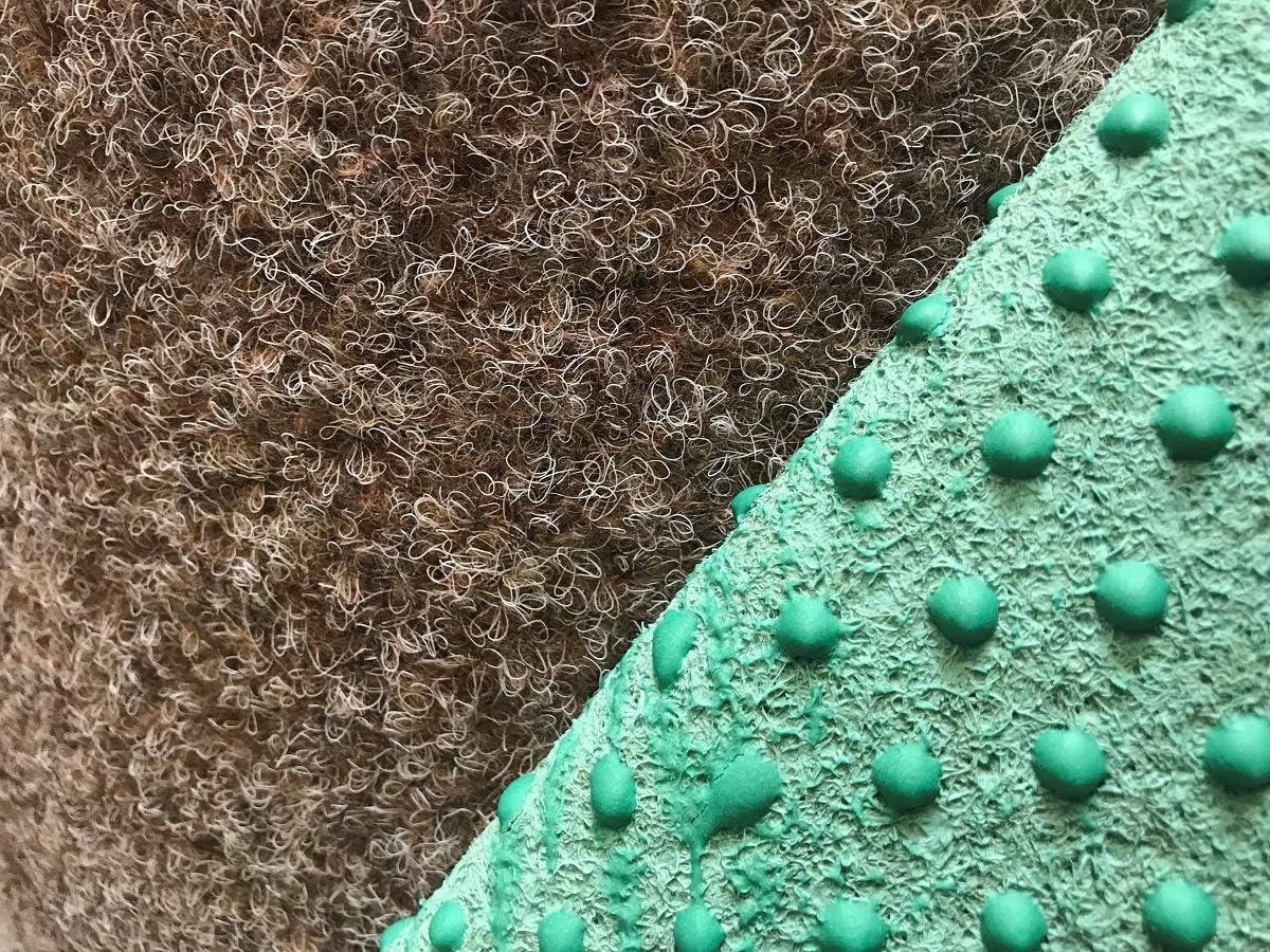 Meterware Rot Blau Grau Braun Beige oder Anthrazit Farbe:Beige Gr/ö/ße:200 x 550 cm wasserdurchl/ässig Balkon Terrasse Camping havatex Rasenteppich Kunstrasen mit Noppen 1.550 g//m/²