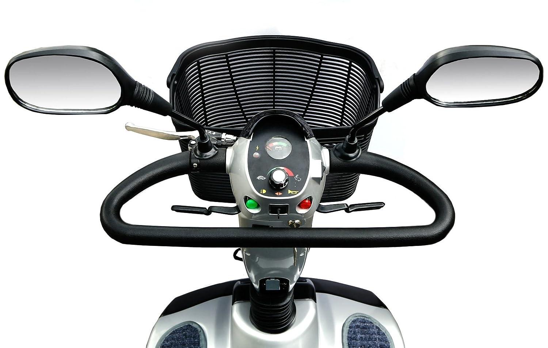 Rolektro eco-Mobil 15 Elektromobil auf 4 R/ädern Elektrischer Krankenfahrstuhl E-Scooter Elektroroller 15 Km//H schnell 45 KM Reichweite T/ÜV Zertifikat keine Helmpflicht