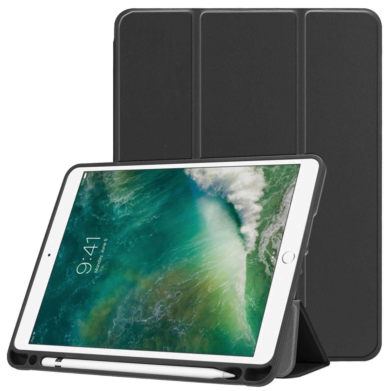 JDHDL 軽量 iPad 9.7 2018/2017 ケース JDHDL ウルトラスリム 軽量 スマートシェル ブラック スタンディングカバー 三つ折りスタンド 自動スリープ/スリープ解除機能付き プレミアムPUレザーカバー Apple iPad 9.7 iPad 第5/第6世代 ブラック B07K8GDXMT, 激安 てれび館:5e281a5d --- amlakzamanpour.ir