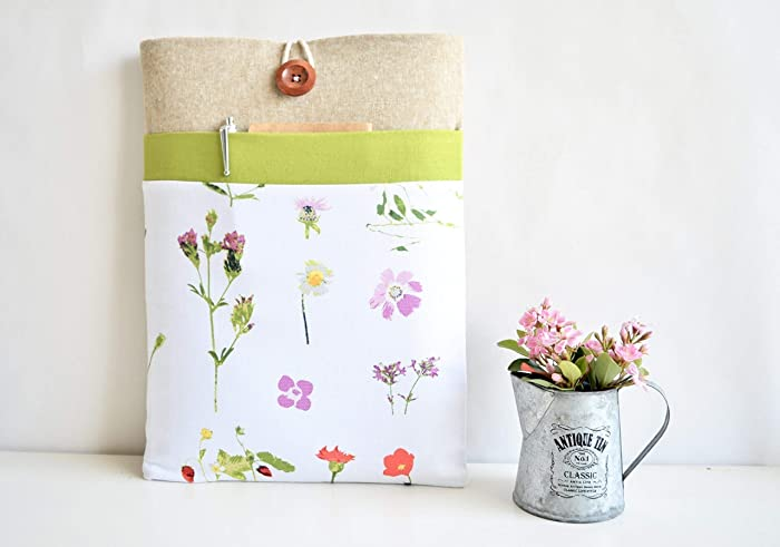 Amazon.com: Floral Computer Cover Case for MacBook, Surface ...