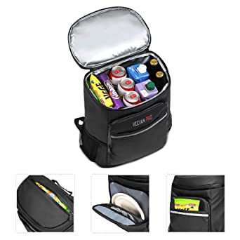 Beach Park Picnic Road Trip 24can Outdoor Cooler Bag Bringing More Convenience To The People In Their Daily Life Mier Insulated Cooler Backpack Leakproof Soft Cooler Bag For Lunch