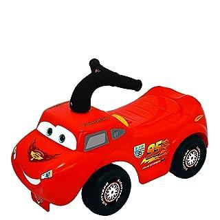 Kiddieland Toys Limited Disney Light N' Sound Activity McQueen Racer Ride On