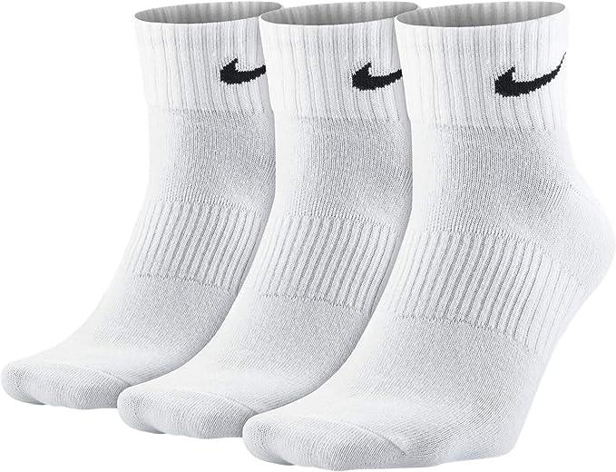 Nike Men's Ankle Socks - white - 8: Amazon.co.uk: Clothing