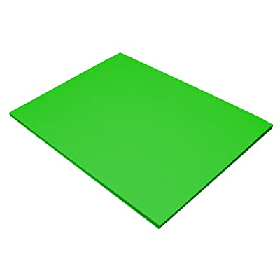 "Riverside 3D Construction Paper, Holiday Green, 18"" x 24"", 50 Sheets : Office Products"