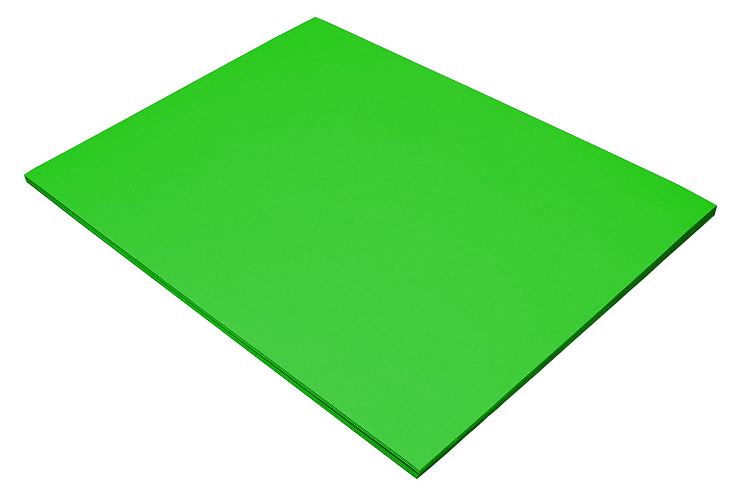 Riverside 3D Construction Paper 18 x 24 50 Sheets Blue-Green