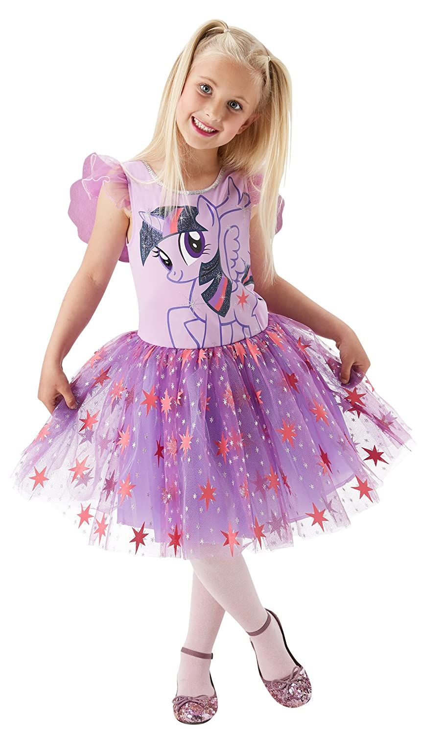 Amazon.com: My Little Pony Twilight Sparkle Deluxe Fancy Dress Costume: Clothing