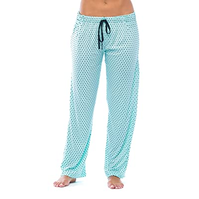 Just Love Women Polka Dot Pajama Pants PJs Sleepwear at Women's Clothing store