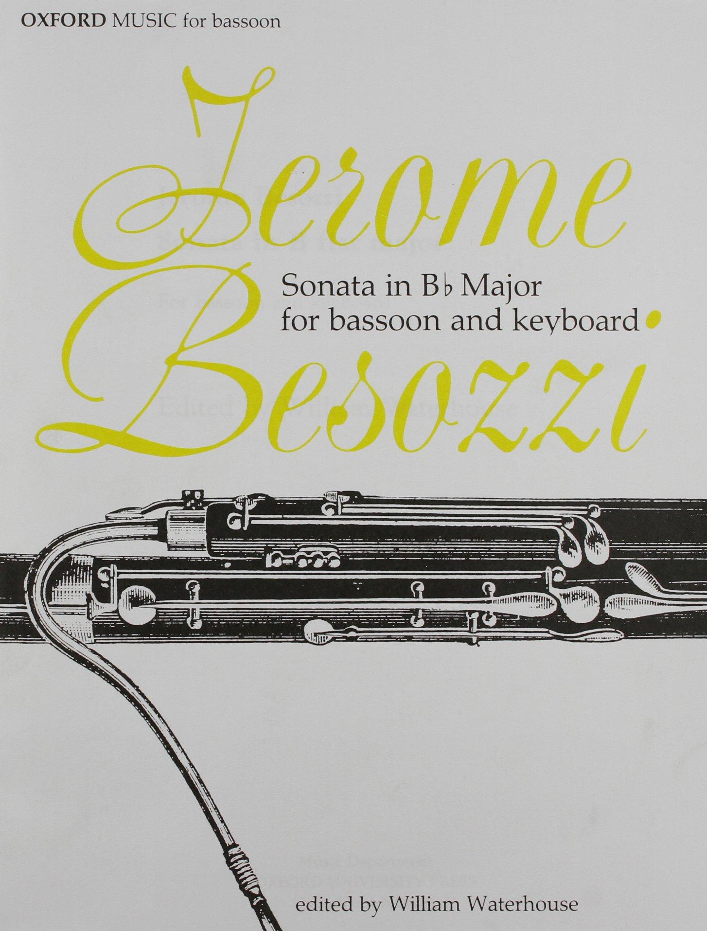 Sonata in B Flat Major for Bassoon and Keyboard