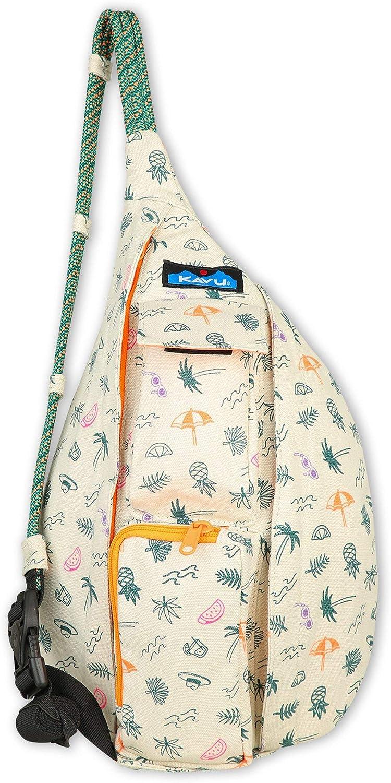 KAVU Mini Rope Bag Cotton Crossbody Sling ?