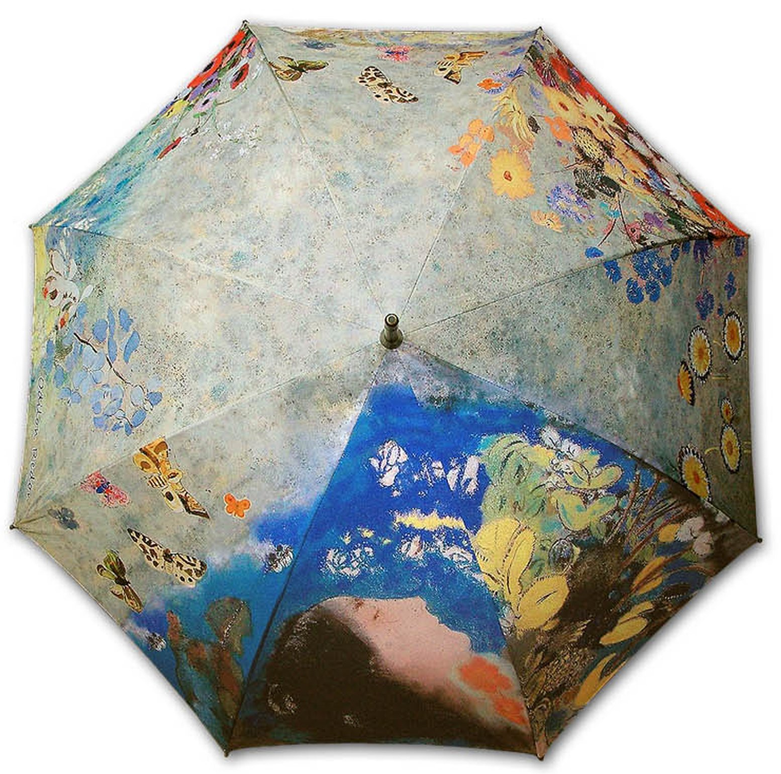 Goldenpiece Redon Ophelia printing long auto umbrella portable precious package