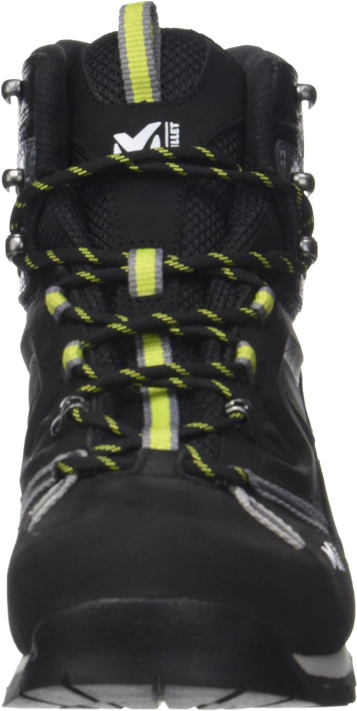 Chaussures de Randonn/ée Hautes Mixte Adulte 44 2//3 EU Charcoal//Acid Green Eider High Route GTX