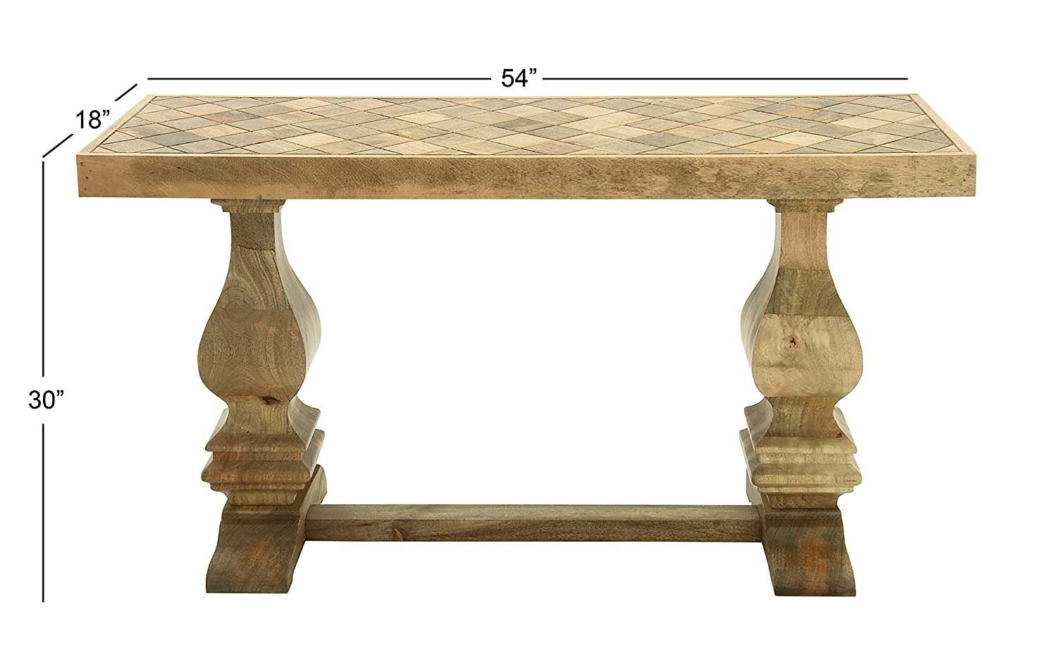 Amazon.com: Deco 79 Wood Console Table, 54