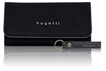 54c78932c462b Bugatti Contratempo Geldbörse Damen Groß RFID - Frauen Geldbeutel mit  Reißverschluss Lang - Damengeldbörse Langbörse Portemonnaie