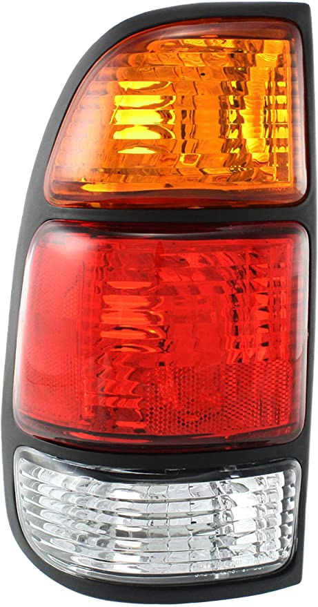 Taillights Taillamp Pair Set for 04-06 Tundra 4 Door Double Cab Pickup Truck