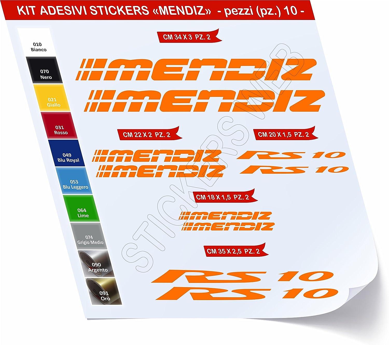 Pegatinas Bicicleta Mendiz RS10 _ Kit 2 _ Kit Pegatinas Stickers ...