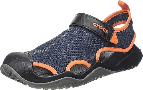 Crocs Herren Swiftwater Mesh Deck Geschlossene Sandalen