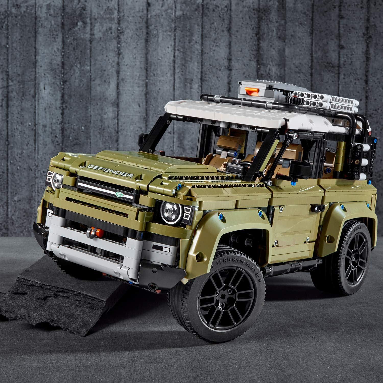 Amazon Com Lego 42110 Technic Land Rover Defender Off Road 4x4