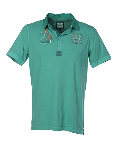 Van Santen - Camiseta - Básico - para Hombre Verde XXL  Amazon.es  Ropa y  accesorios a70366096ef