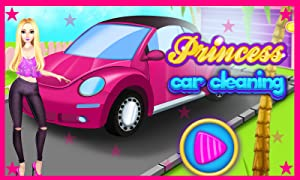 Princess Pinky Car Cleaning