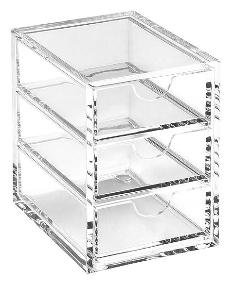 Osco Clear Acrylic 3 Drawer Storage Box Medium A3274  sc 1 st  Amazon.com & Amazon.com: Osco Clear Acrylic 3 Drawer Storage Box Medium A3274 ...