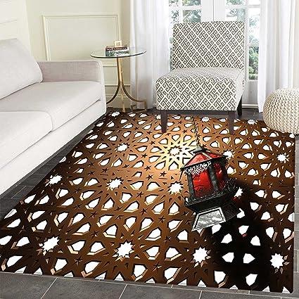 Amazon Com Lantern Area Rug Carpet Egyptian Fanoos In A 3d Style