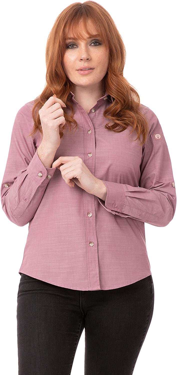 Chef Works Women's Chambray Shirt
