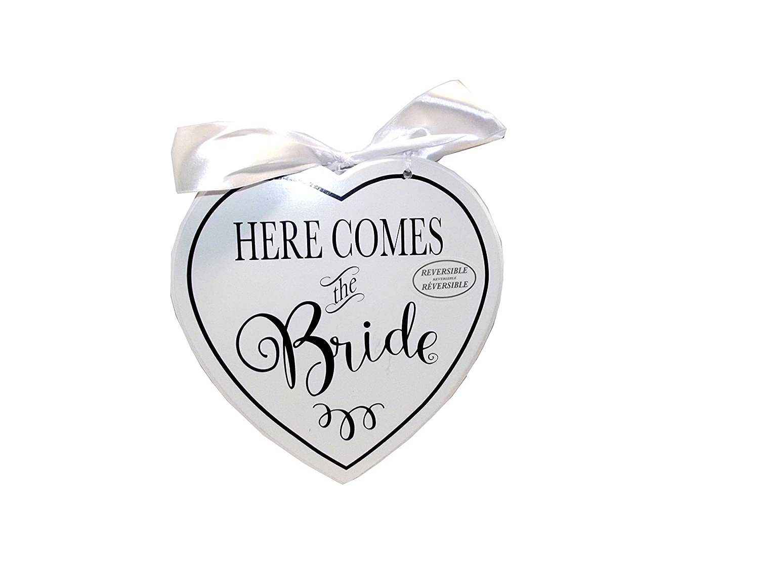 Amscan International 241432/Signsign MDF here Comes The Bride