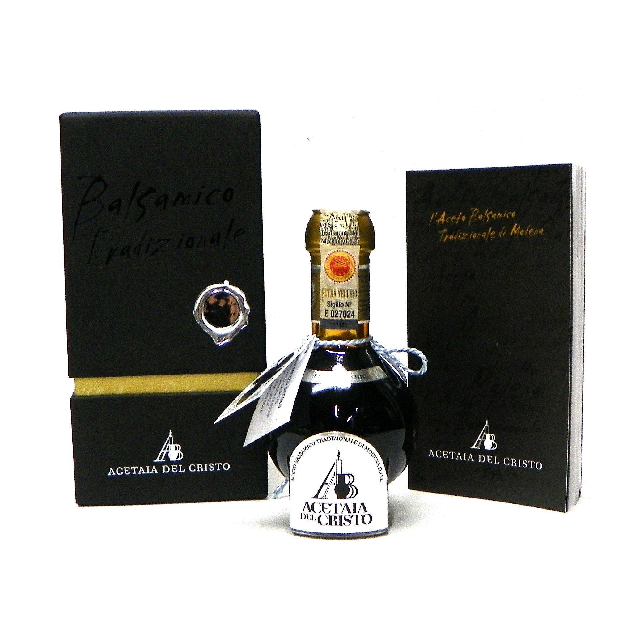 Acetaia Del Cristo ''Diamante Nero'' Aged 30 Years Traditional Balsamic Vinegar of Modena DOP, 100 ml