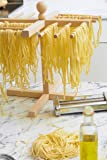 Pasta Drying Rack By Imperia - 100% Italian Beech Wood Construction - Holds 1lb of Pasta
