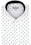 Arihant Printed 100% Cotton Half Sleeve Regular Fit Formal Shirt for Men