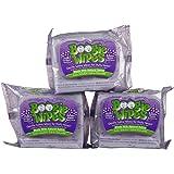 Boogie Wipes Boogie Bundle - Grape (3 Pack)