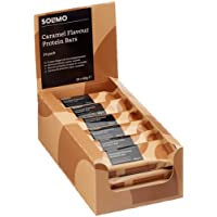 Amazon Brand - Solimo Caramel Flavoured Protein Bars - 24 pack