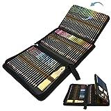 Lapices Colores Profesional, 96pcs Lápices de Dibujo Artístico para Boceto, Lapiz Dibujos con Lapices de Carboncillo y…