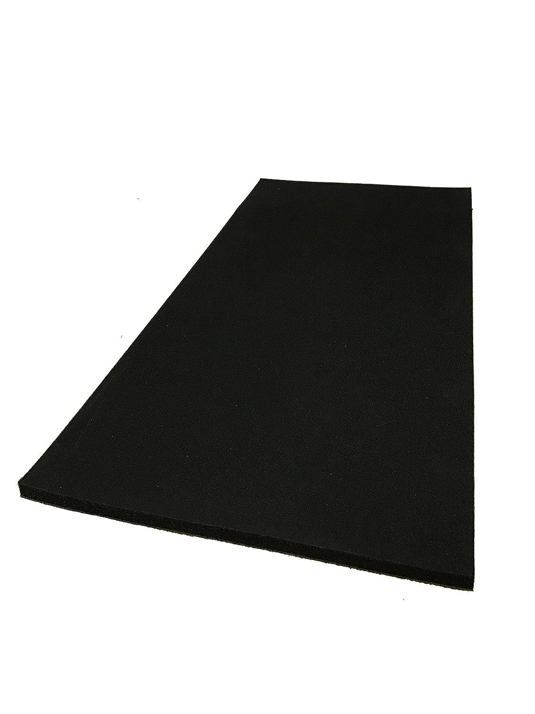 Advanced Acoustics Dämmmatte Silent Panel aus Schaumstoff-Verbund, 5kg / 25mm, akustische Isolierung, 600mm x 1200mm 5kg / 25mm 600mm x 1200mm