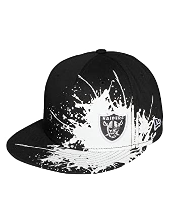 New Era Uomo Cappellini   Fitted Cap Splatways Flawless Oakland Raiders  59Fifty 3c76b7fd43ca
