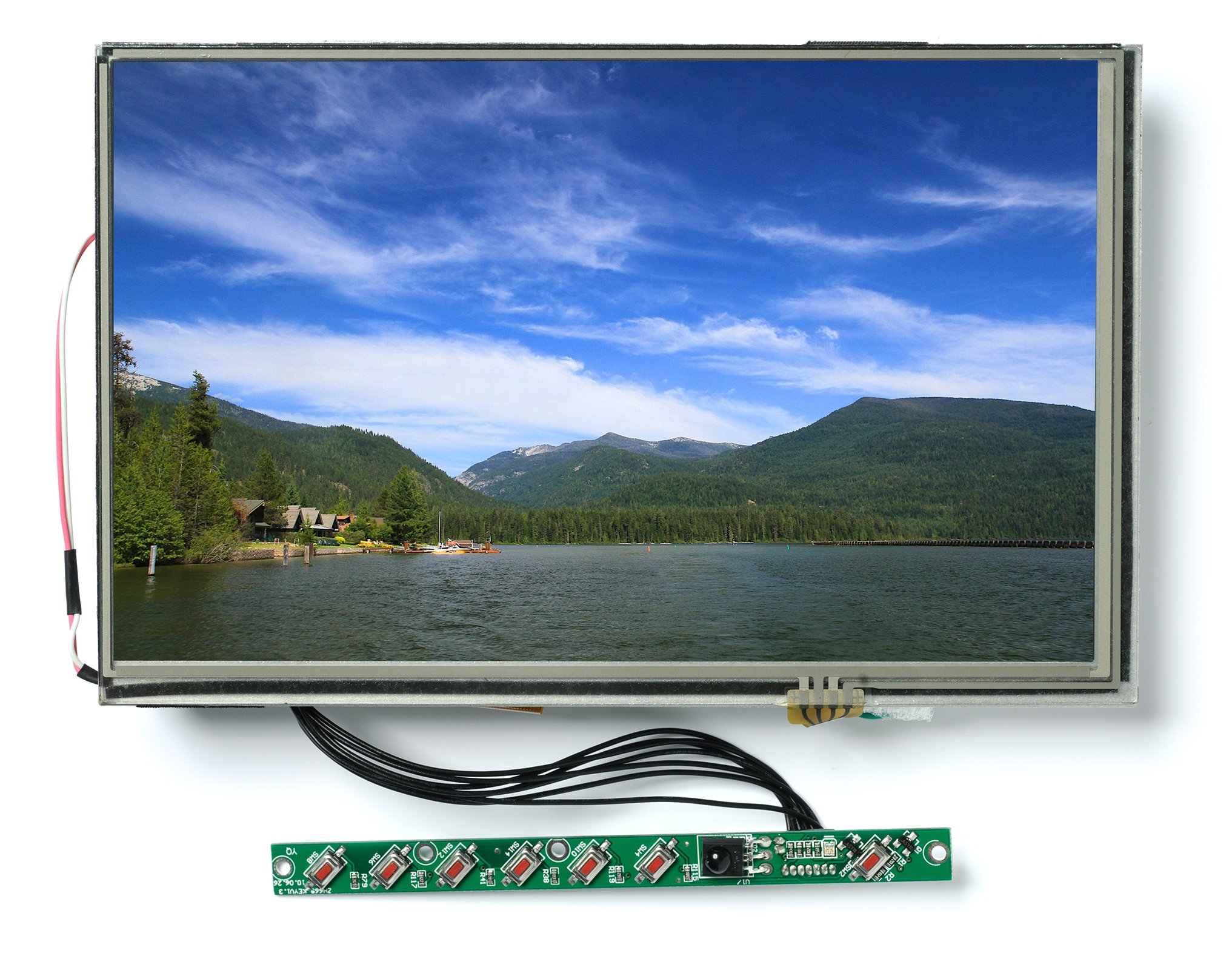 Lilliput 7'' SKD Open Frame Touch Screen VGA Monitor