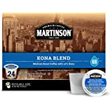 Mother Parkers Martinson Kona Blend Real Cup Coffee Capsule, Compatible with Keurig K-Cup Brewers, 24-Count
