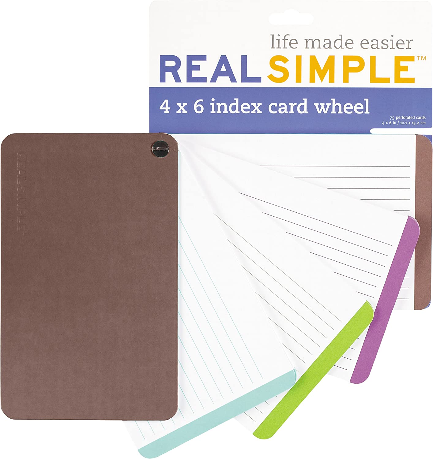 Real Simple Index Card 5x5, Purple (53055): Amazon.co.uk: Office