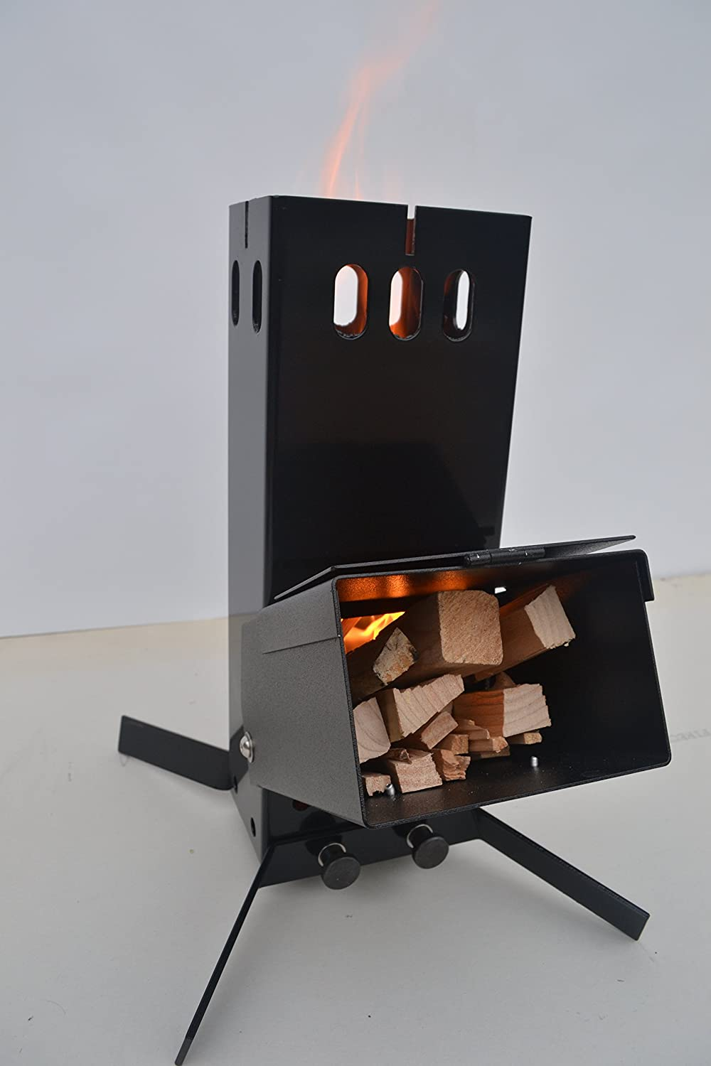 Hottop Camping Survival Rocket Stove Sports Outdoors Another Diagram Build Pinterest