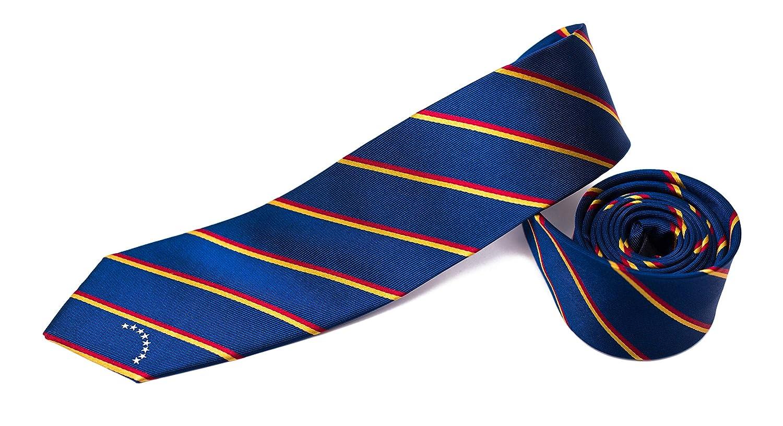 2.5 Width 100/% Woven Silk Venezuela Skinny Tie