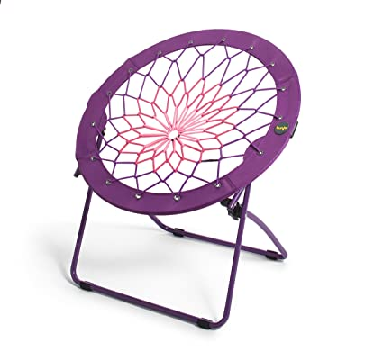 Stupendous Amazon Com Bunjo Bungee Chair For Kids 32 Purple Pink Gmtry Best Dining Table And Chair Ideas Images Gmtryco