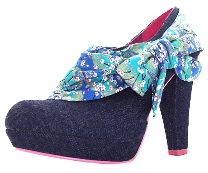 Ruby Shoo Women's Taylor Denim Court Shoes