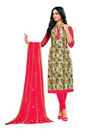 942fe42c61 Ladyline Womens Rayon Salwar Kameez Embroidered Indian Pakistani Dress at  Amazon Women's Clothing store: