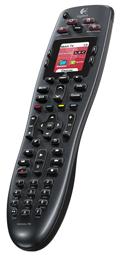 f40581b6af3 Logitech Harmony 700 Rechargeable Remote with Color Screen (Discontinued by  Manufacturer)