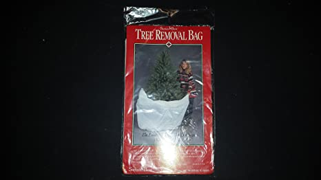 Santas Best Christmas Trees.Santa S Best Christmas Tree Removal Bag 90 Tall
