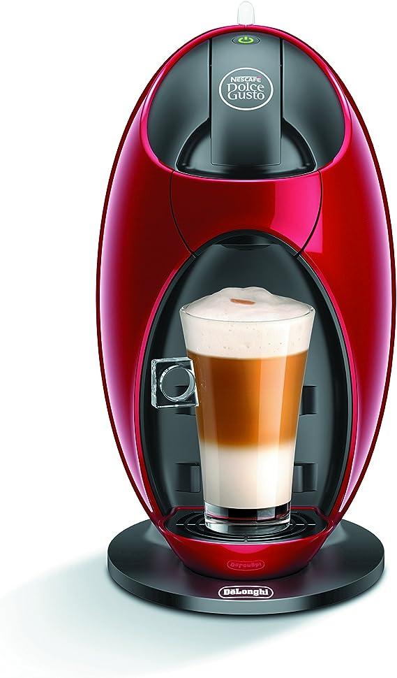 DeLonghi Jovia EDG250.R - Cafetera (Independiente, Rojo, Espresso machine, Cápsulas, Café, 0,8L): Amazon.es: Hogar